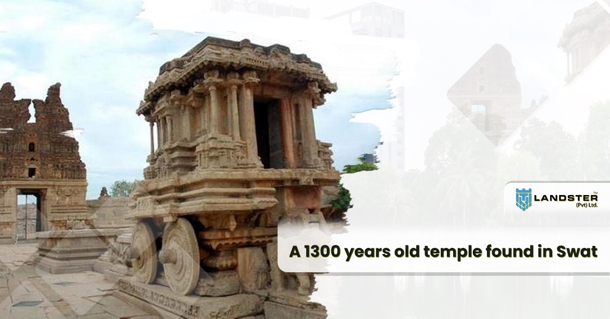 1300 years old hindu temple discovered in Swat