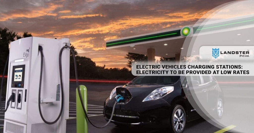 Electric vehicles CHARGING Station