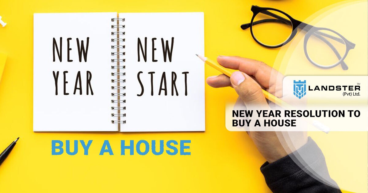 New year resolution to buy a house