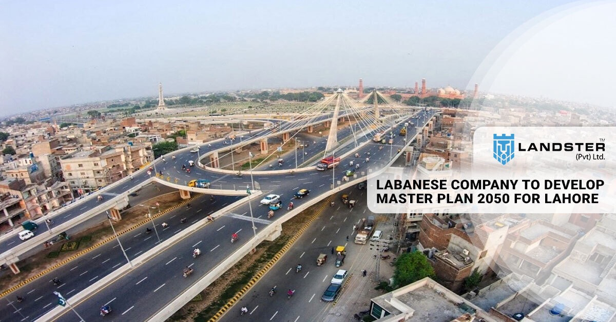 Master plan 2050 for Lahore