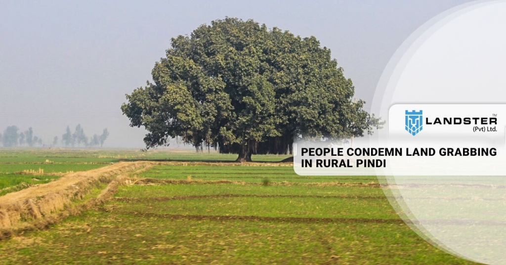 Land grabbing in rural pindi