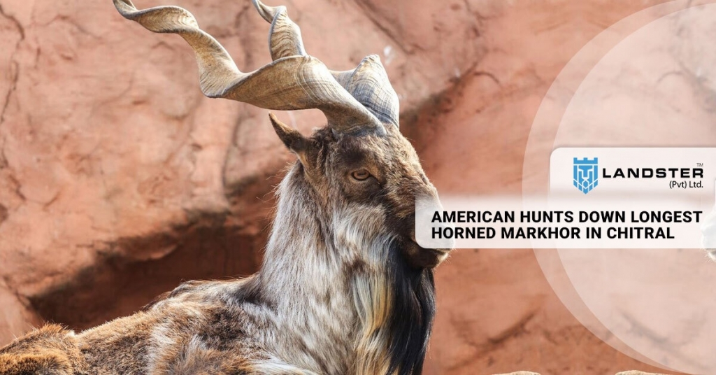 AMERICAN HUNTS DOWN LONGEST HORNED MARKHOR IN CHITRAL