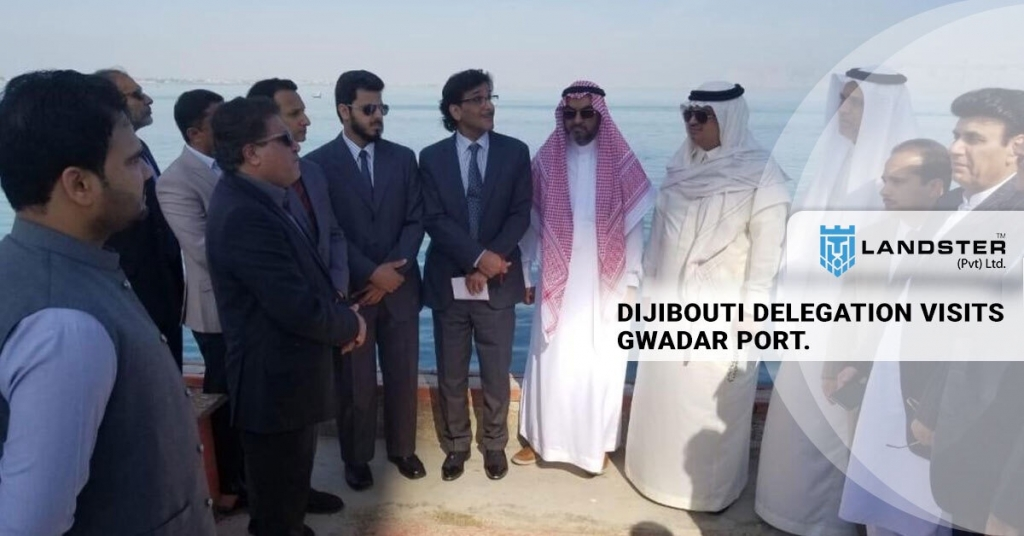 DELEGATION VISITS GWADAR PORT