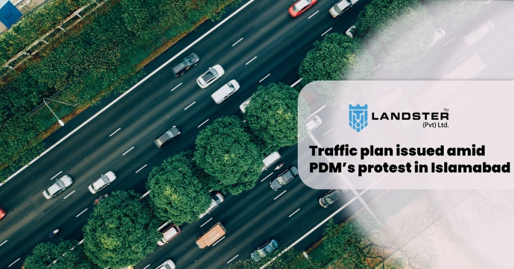 Traffic plan amid PDM protest