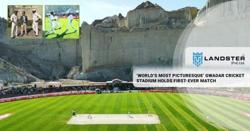 Gwadar Cricket Stadium holds first-ever match