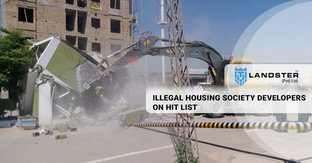 Illegal housing society
