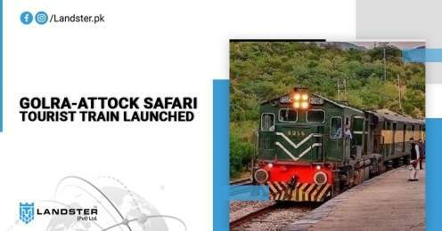 Golra-Attock Safari Tourist Train