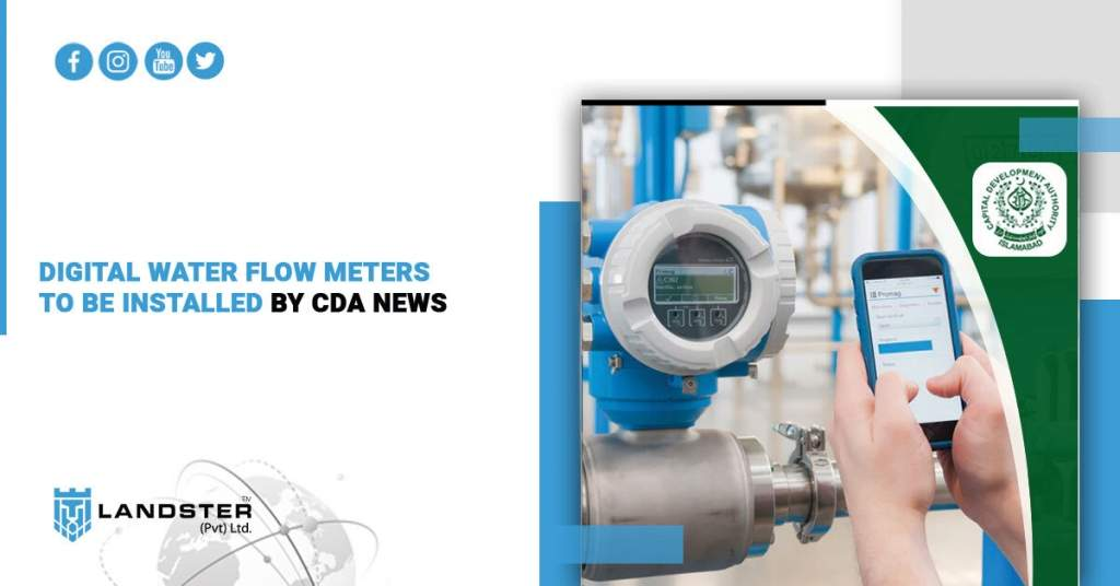 CDA to Install Digital Water Flow Meters.