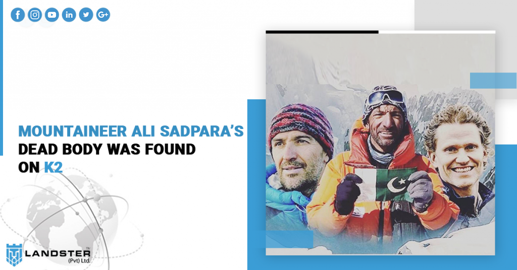 Mountaineer Ali Sadpara's Dead Body Was Found On K2