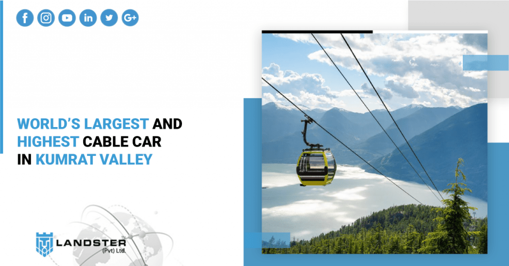 World's Largest and Highest Cable Car in Kumrat Valley
